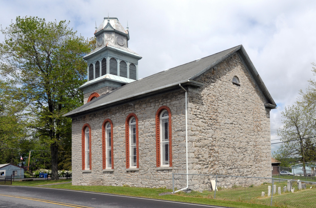 Christ Church, Fayette, NY. Photo (2008) by Kenneth Mays.