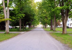 South Dayton Village, once Perrysburg, NY. Photo by Kenneth Mays.
