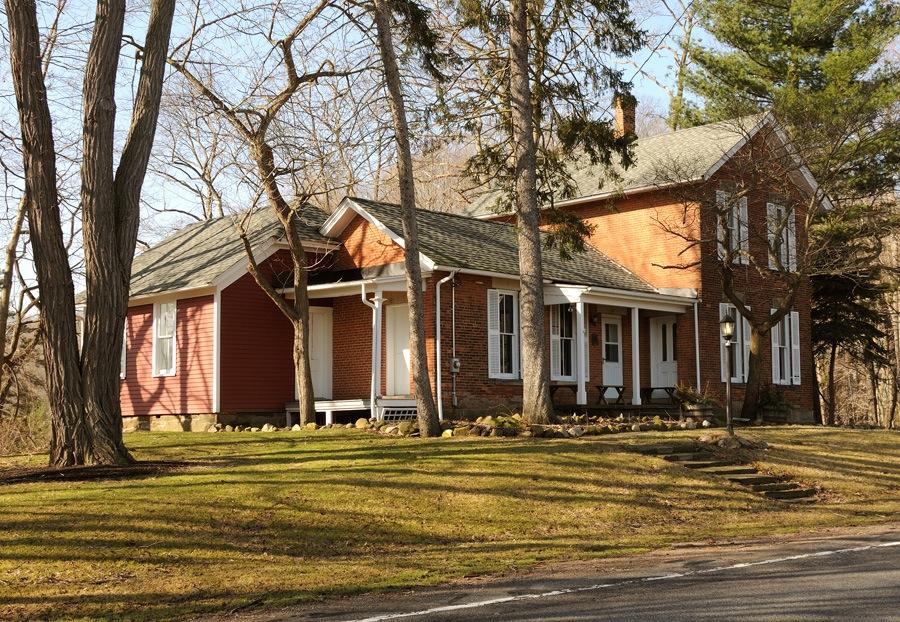 Serenus Burnett home, Orange, Ohio. Photo by Kenneth Mays.