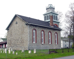 Christ Church, Fayette, NY. Photo (2003) by Kenneth Mays.