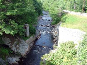 View from the stone arch bridge near Gilsum, NH. Photo by Kenneth Mays.