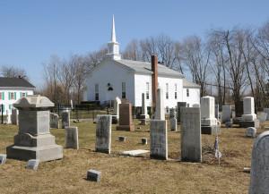 Mantua Center Christian Church. Photo by Kenneth Mays.