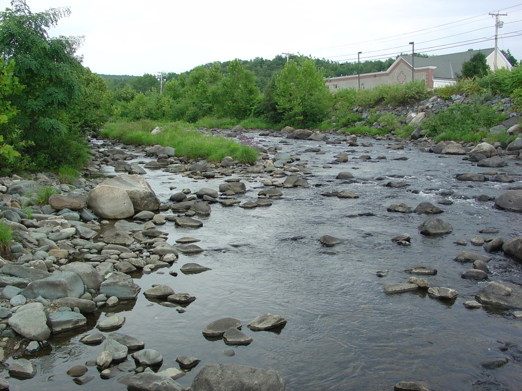 Mascoma River, West Lebanon, NH. Photo (2005) by Kenneth Mays.