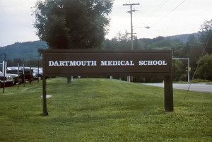 Dartmouth Medical School, founded by Dr. Nathan Smith. Photo (1989) by Kenneth Mays.