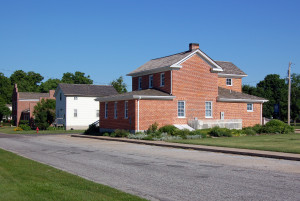 Nauvoo Land and Records Office. Photo (2007) by Kenneth Mays.