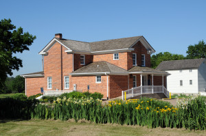 Nauvoo Land and Records Office. Photo (2013) by Kenneth Mays.