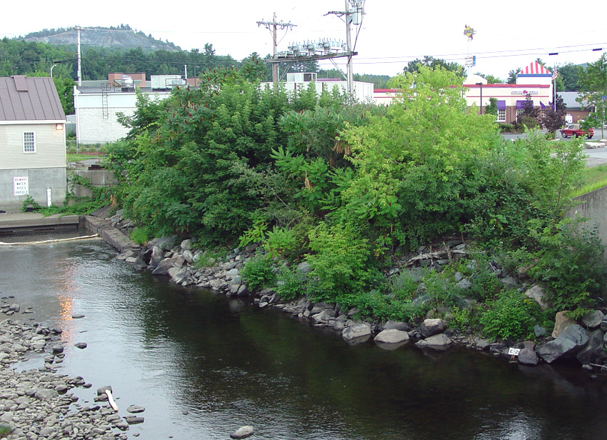 Mascoma River, near the site of Joseph Smith's boyhood operation. Photo (2005) by Kenneth Mays.