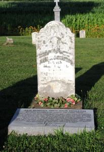 VIII-21a Julia Murdock Smith grave LR