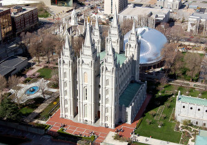 Temple Square. Photo by Kenneth Mays.
