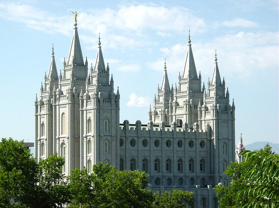 Salt Lake Temple Salt Lake City Ut