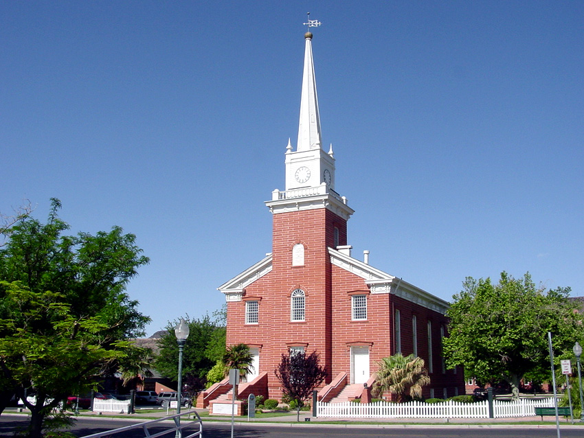 St. George Tabernacle. Photo by Kenneth Mays.