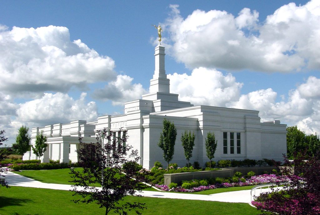 Palmyra, New York Temple. Photo by Kenneth Mays.