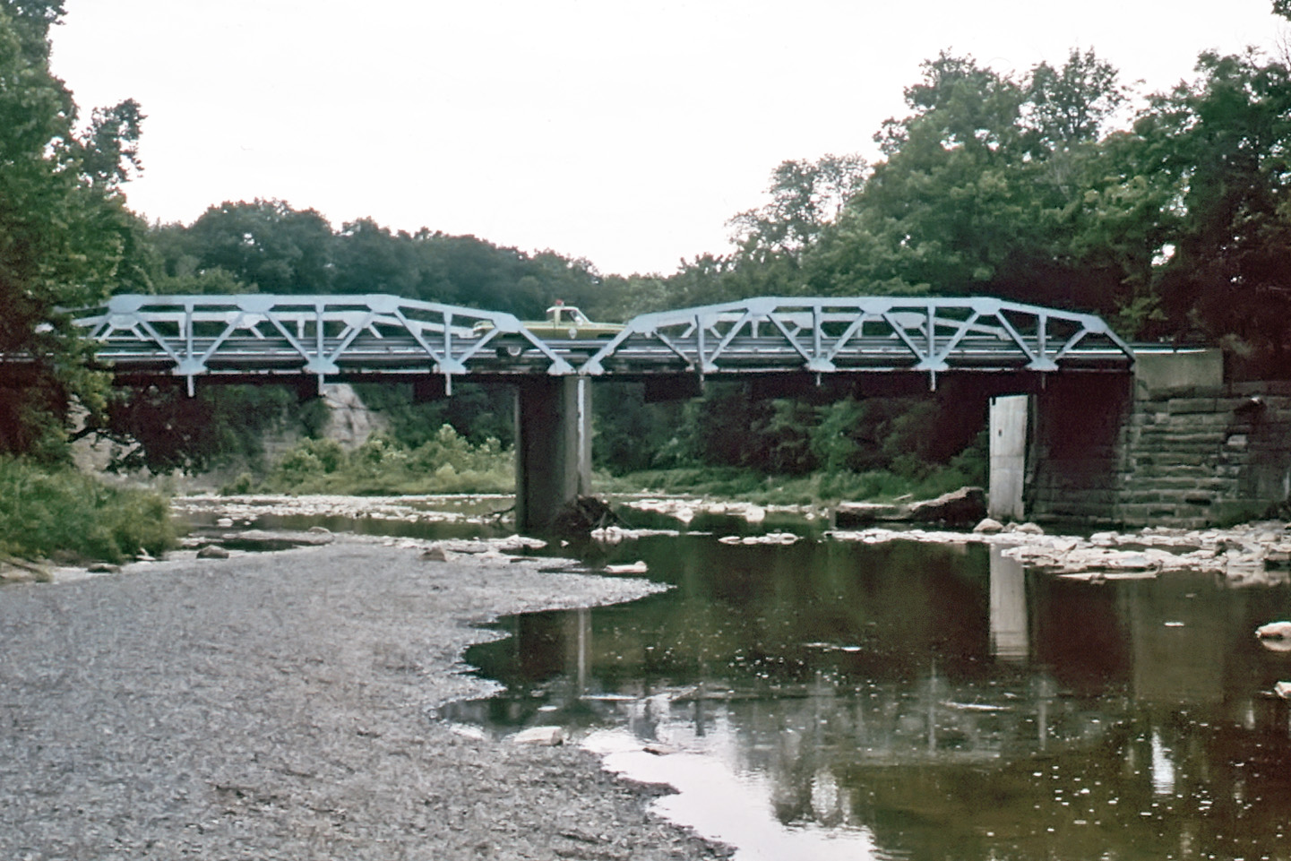 Ohio erie county vermilion - Bridge Over The Vermilion River Photo 1989 By Kenneth Mays