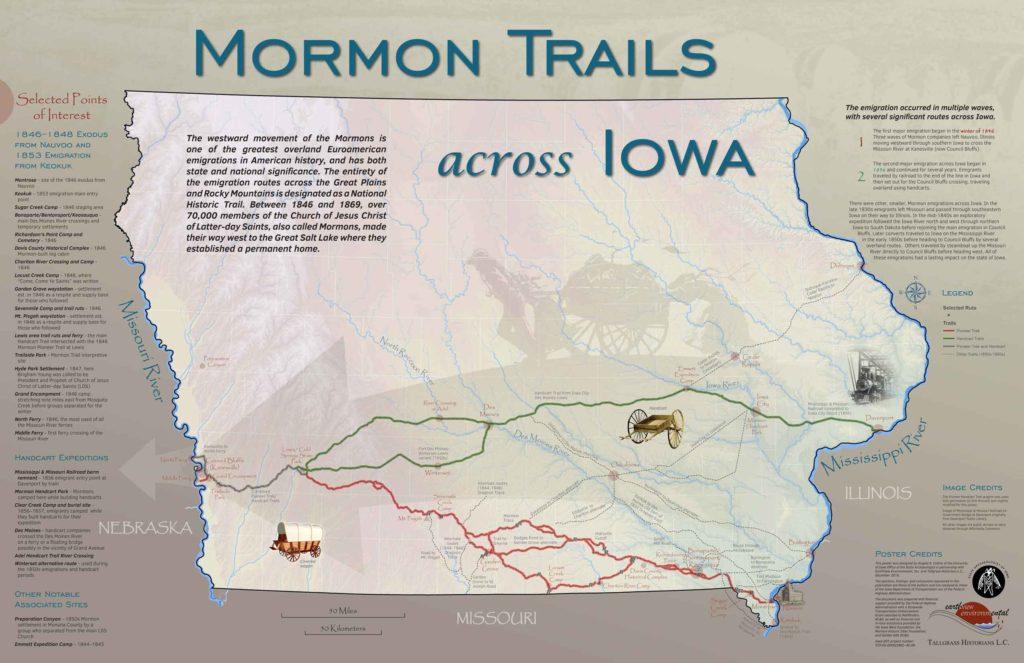 Mormon Trail Poster