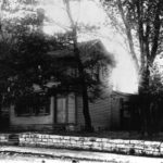 The David Whitmer Richmond, MO home before is was destroyed. Photo by George Edward Anderson.
