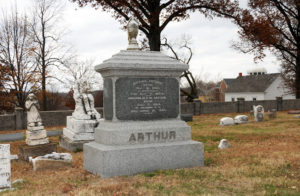 Michael Arthur grave, Liberty Missouri. Photo by Kenneth Mays.