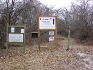 Upper trail to the