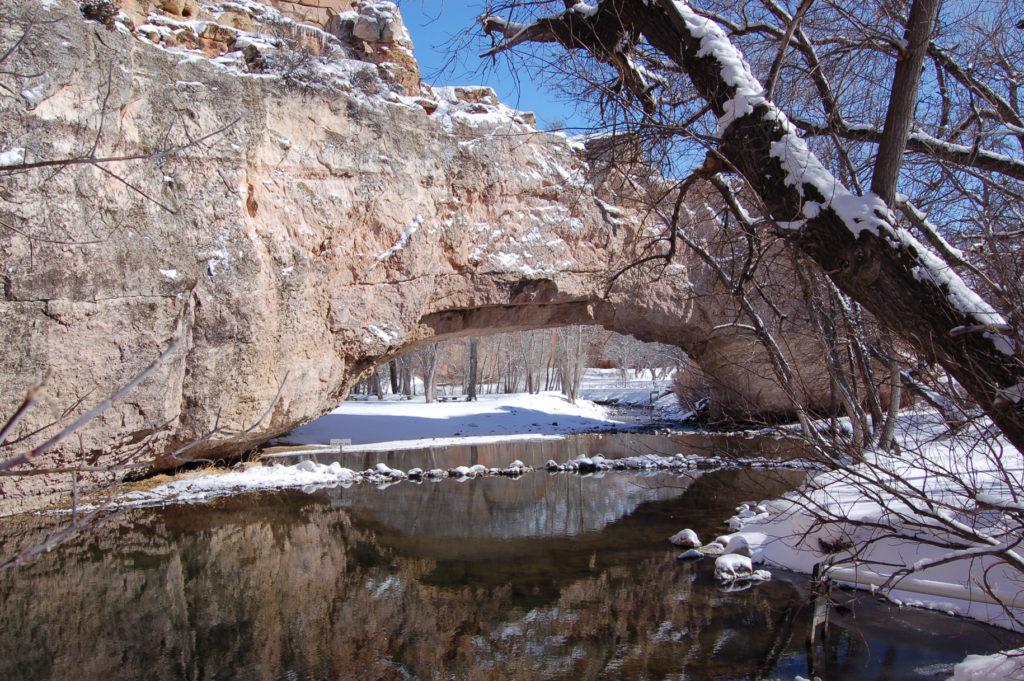 Ayres Natural Bridge, Wyoming