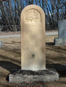 Orson Hyde grave.
