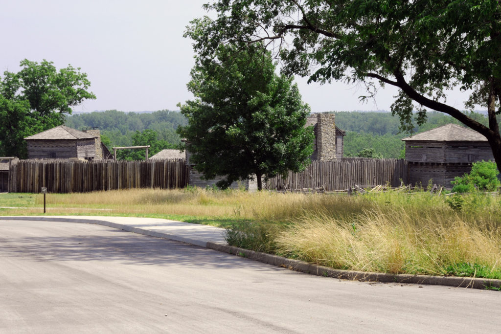 Fort Osage. Photo by Kenneth Mays.